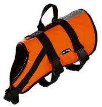 Baltic Standard Dog Buoyancy Aid Orange with black